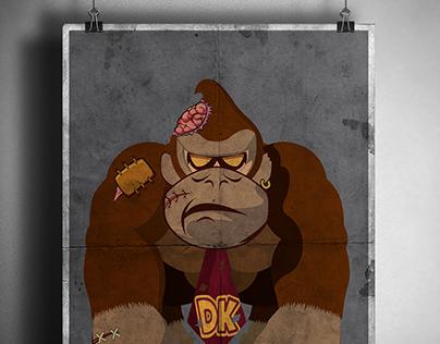 Donkey Kong Zombie
