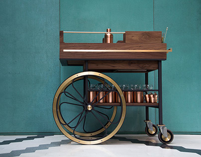 The Baron Bar Cart