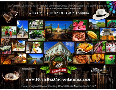 Ruta del Cacao Arriba. Vinces Ecuador