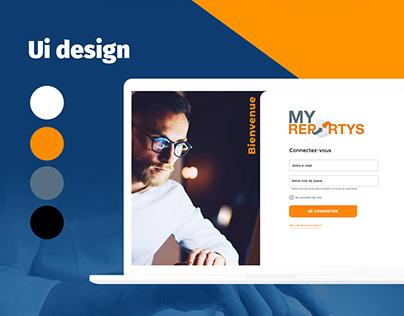 UX/UI design logiciel intranet, création digitale