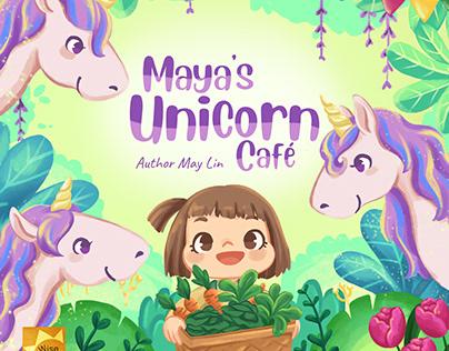 Maya's Unicorn Cafe (available on Amazon)