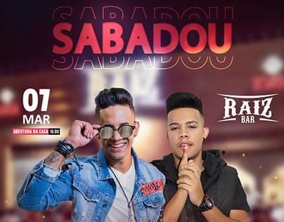 Flyer Sertanejo Animado - Social Media / Bar