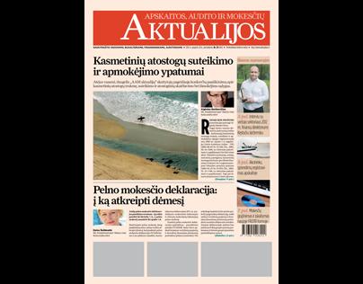 AKTUALIJOS newspaper