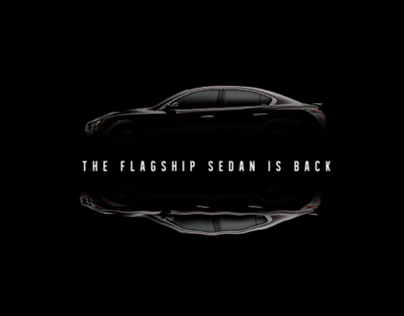 Nissan Maxima 2012 - 3D Animation