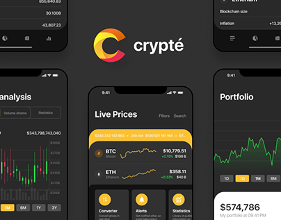 crypté — ios crypto app