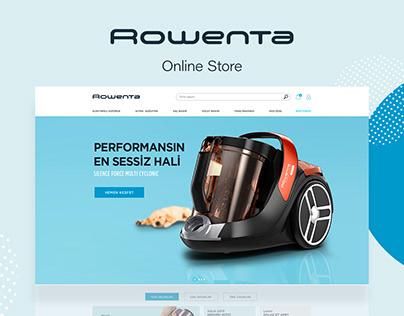 Rowenta e-commerce