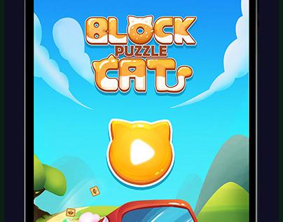 Block puzzle Cat