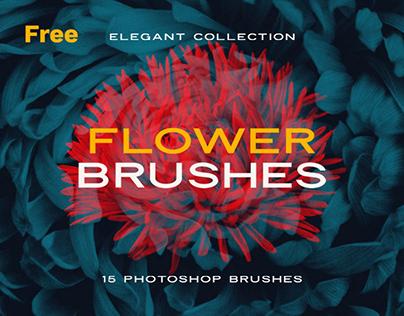 Elegant Flower: Free Photoshop Brushes