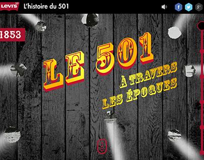 Storytelling - Levis 501