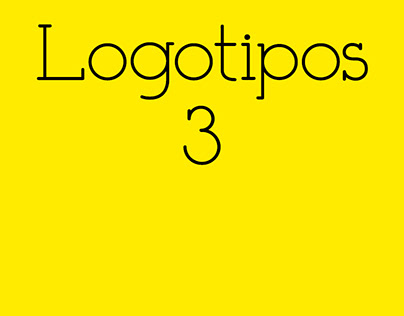 Logotipos // Logotype