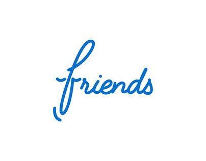 Friends Animated Logo