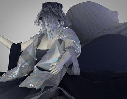 3D Layered Dress- Marie Dress