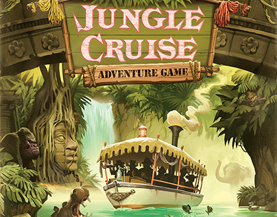 Jungle Cruise Board Game
