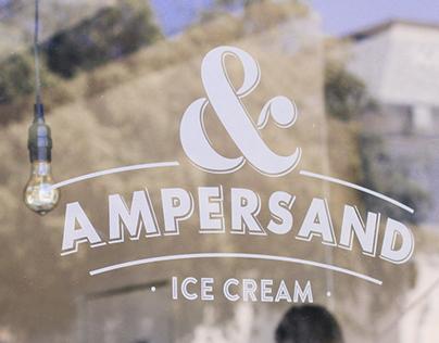 Ampersand Ice Cream Branding