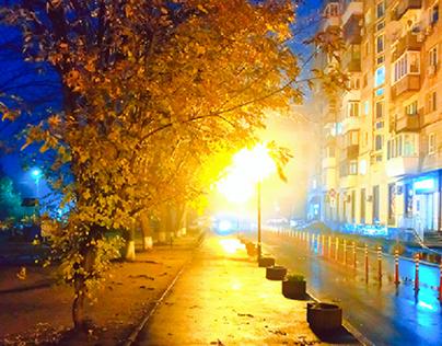 Autumn evening.