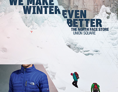 The North Face Outdoor Signage