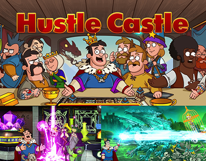 Hustle Castle - ADS for game traffic
