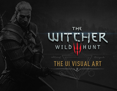 THE WITCHER 3: THE UI VISUAL ART