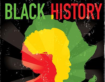 Black History month designs