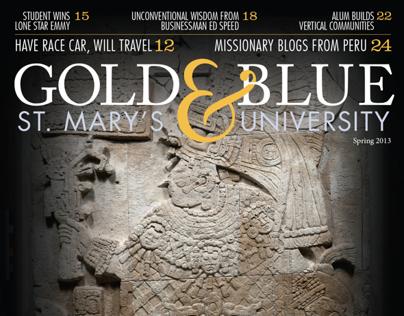Gold & Blue Alumni Magazine Spring 2013
