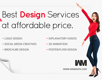 Best Design Services at affordable price.