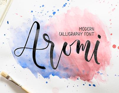 Aromi Font Duo