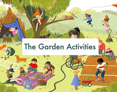 The garden activities