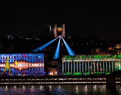 Fête des lumières - Lyon - 2019