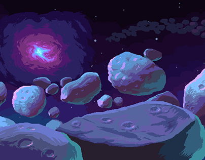 Shooting Stars background work