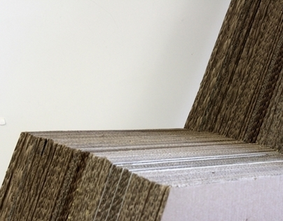 THUNDER | Recycled Cardboard Chair