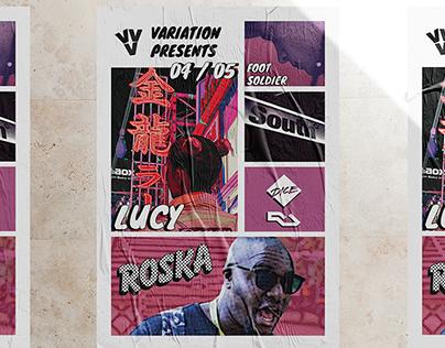 Variation Presents. Roska & Lucy