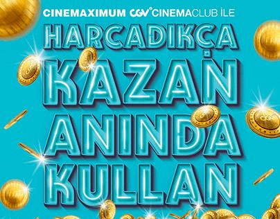 Cinemaximum // Avantajları Cebinden Çıkar