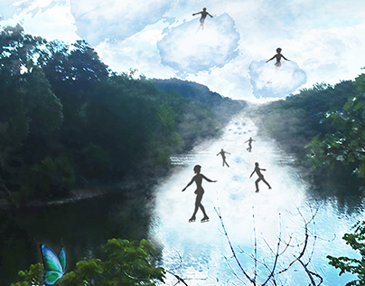 Surrealism Poster Inspired by Robert Gonsalves