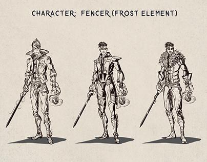 Character Code (frost men) FENCER