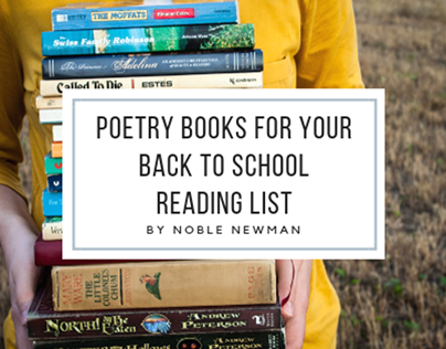 Poetry Books for Your Back to School Reading List