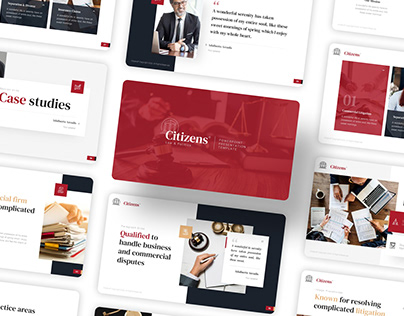 Free Law & Attorneys PowerPoint Presentation Template