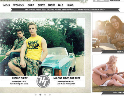 Hal&Burton Website