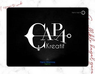 Capa Kreatif | Agency logo design