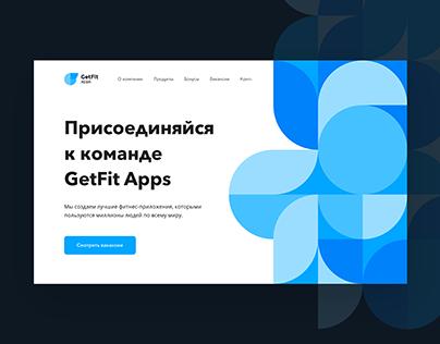 Mobile Developer Company Website