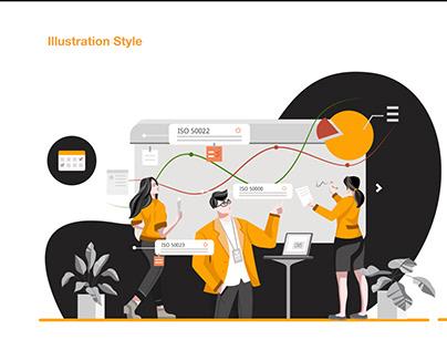 UI style | HKQAA Internal portal