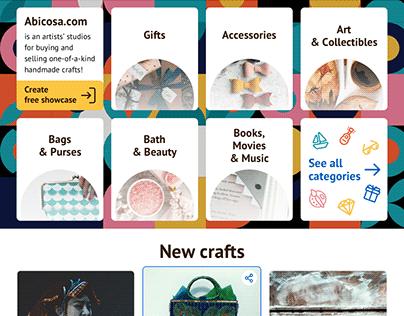 Etsy-like marketplace