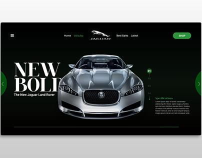 Jaguar Landing Page