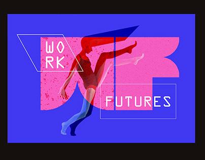 WORK FUTURES | Visual identity concept no 2.