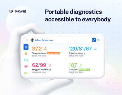 S-Case portable MedTech device for healthcare