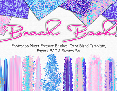 Beach Bash Spring Photoshop Designer Set