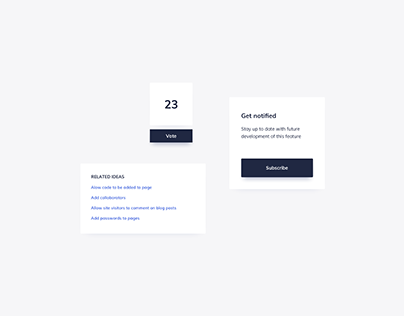 Day 1197・UI Components Design