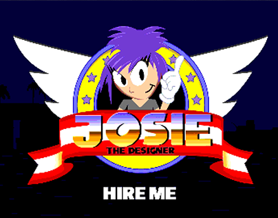 Sonic Inspired Animated Personal Logo (WIP)