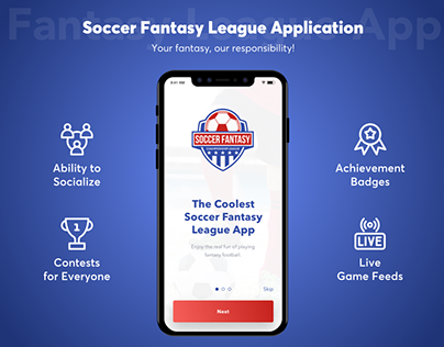 Soccer Fantasy League Application