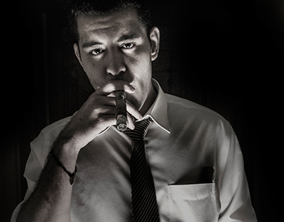 Cigar Advertisement Photography