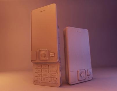 LG KC550 in 3D
